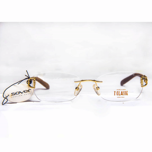 rimless glasses for women